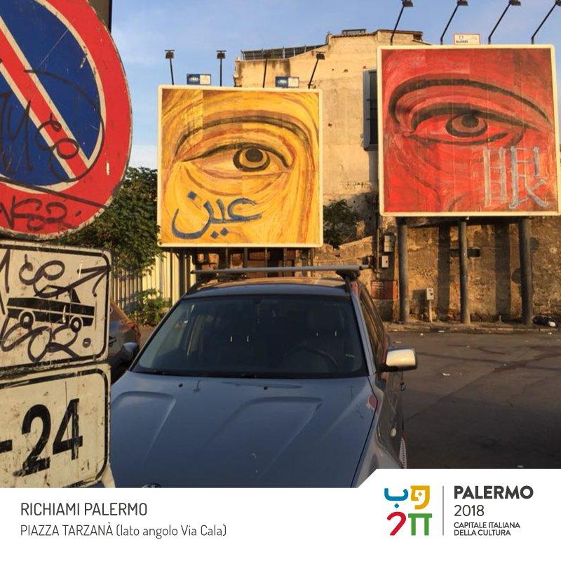 Richiami, Palermo 2018 è un'installazione pubblica site specific realizzata da Fabrizio Da Prato e consiste nell\