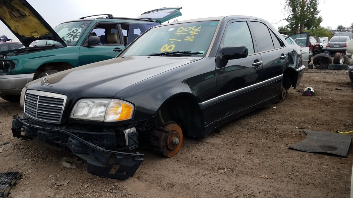The Truth About Cars On Twitter Junkyard Find 2000 Mercedes Benz