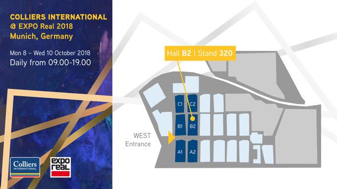 Die #ExpoReal 2018 steht vor der Tür und wir freuen uns auf drei spannende Messetage in München. Unsere Experten stehen Ihnen  an Stand B2|320 zur Verfügung, aber auch bei Panels diskutieren sie Zahlen, Trends und Herausforderungen der Immobilienbranche:  t.co/kdasguofxQ