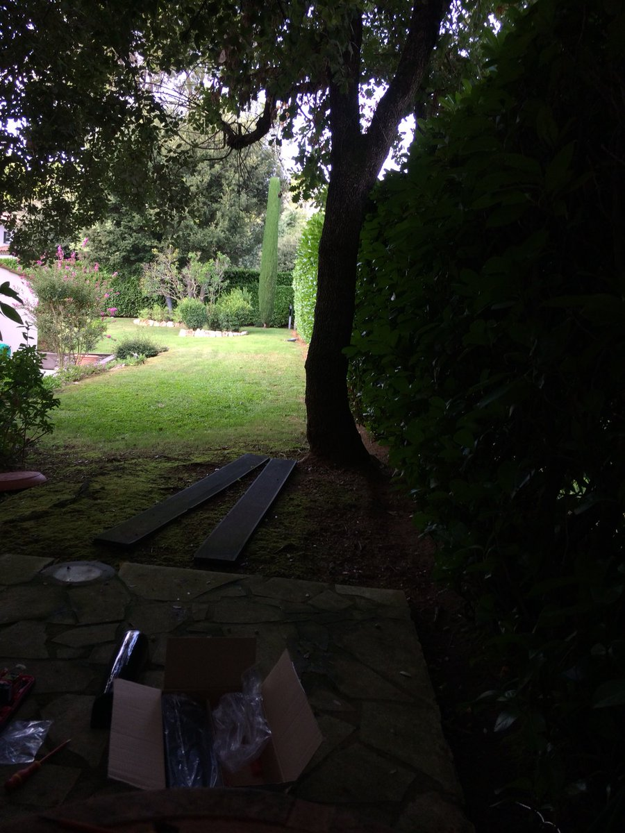 Sicazur Prestige On Twitter Today Is The Installation Of Infrared Intrusion Barrier Barriers Sorhea To Secure Garden A Villa Or How Enjoy His While Being