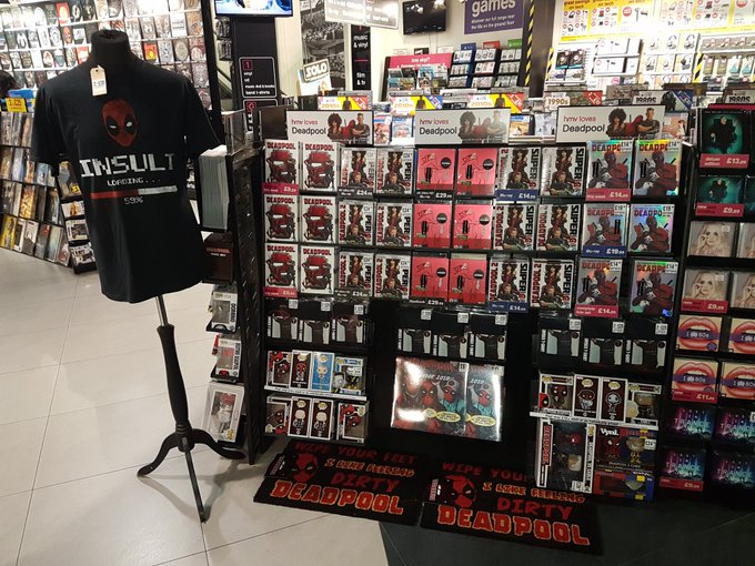 Out today #Deadpool2 on 4K, blu-ray & DVD. Now about those Chimichangas you promised me. Photo