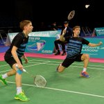 Badminton: European Junior SILVER for Christopher and Matthew...
