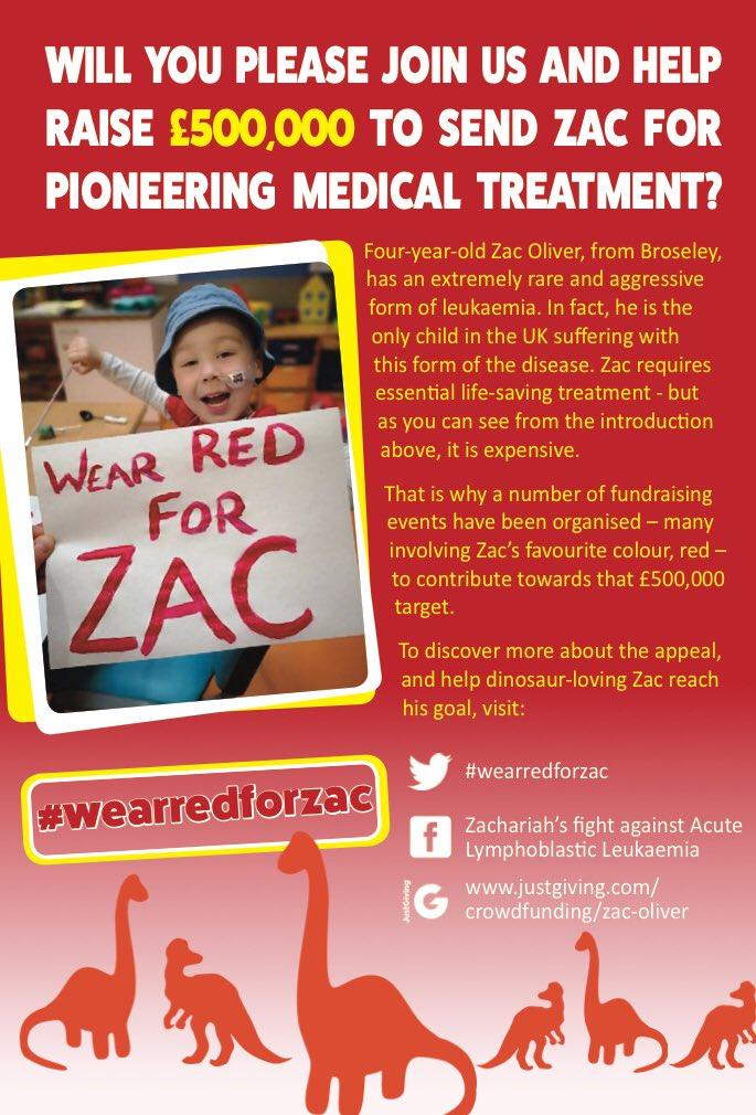 Zacs Cancer On Twitter 11 Days To Go Until Wearredforzac  E2 9d A4  E2 9d A4  E2 9d A4 Lets Spread The Word Wegotthiszac Childhoodcancerawarenessmonth