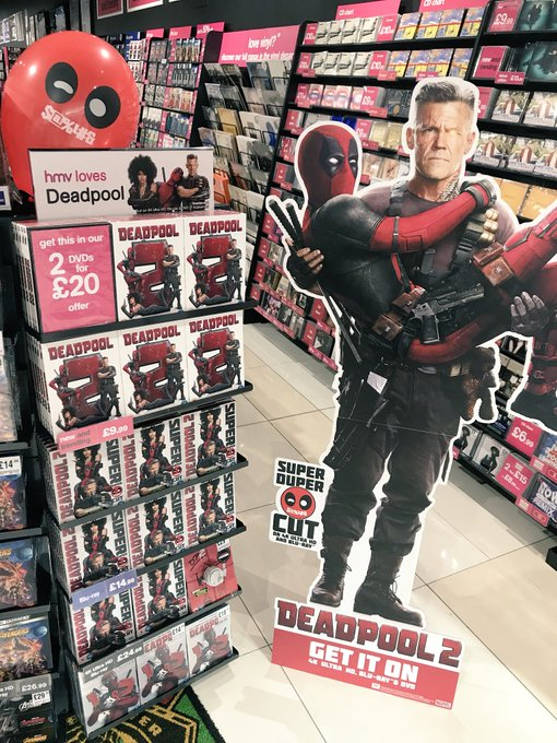 #Deadpool2 is out now on dvd, blu ray, 4K and 4K steelbook! Grab your copy now. Photo
