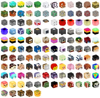 Minecraft Heads Com On Twitter 125 New Heads For You Show Us