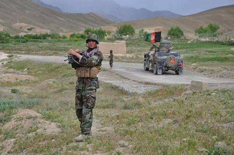 Two insurgents killed and another was wounded in ANA clearing operations in Shah Walikut district of Kandahar Province.