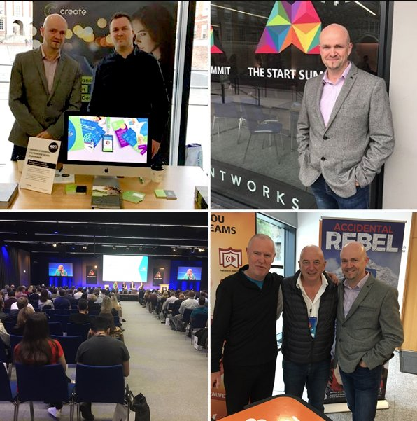 Excellent day exhibiting at The Start Summit on Saturday - great new contacts, caught up with a few old friends, and learnt a lot from the brilliant speakers. Congrats to all involved #thestartsummit #jamiewhite #buildingabrand #branding #dublincastle #marketing #businessstartup