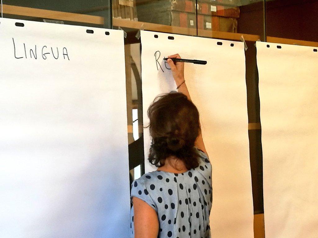 """Cosa vuol dire """"uguaglianza""""? Gli alunni della scuola primaria lo scoprono con Alessandra Cordiano, nel laboratorio """"Essere uguali, essere diversi davanti alla legge"""". #univr #kidsunivr2018 #kidsunivr #uguaglianza #diritto #legge #Costituzione  - Ukustom"""