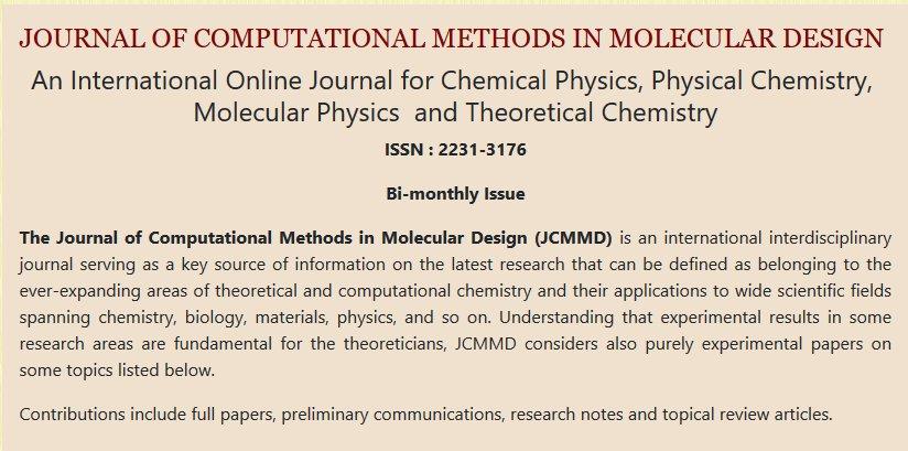 Computational Method in Molecular Design (@mol_design) | Twitter