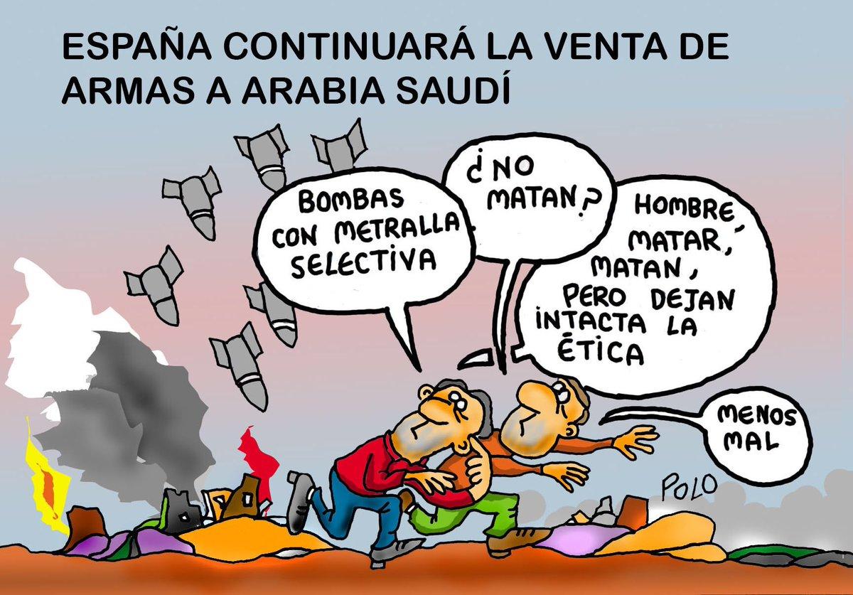 """La viñeta de hoy...""""Las bombas """"buenas"""" #NoEnMiNombre @pelaya01 @Famelica_legion @Zaparrastroso1"""
