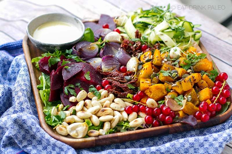 Gorgeous Fall Salad With Roasted Squash & Tahini Dressing (Whole30, Paleo) https://t.co/XIX9oY2wT8 https://t.co/wFpmDJ7Vk2