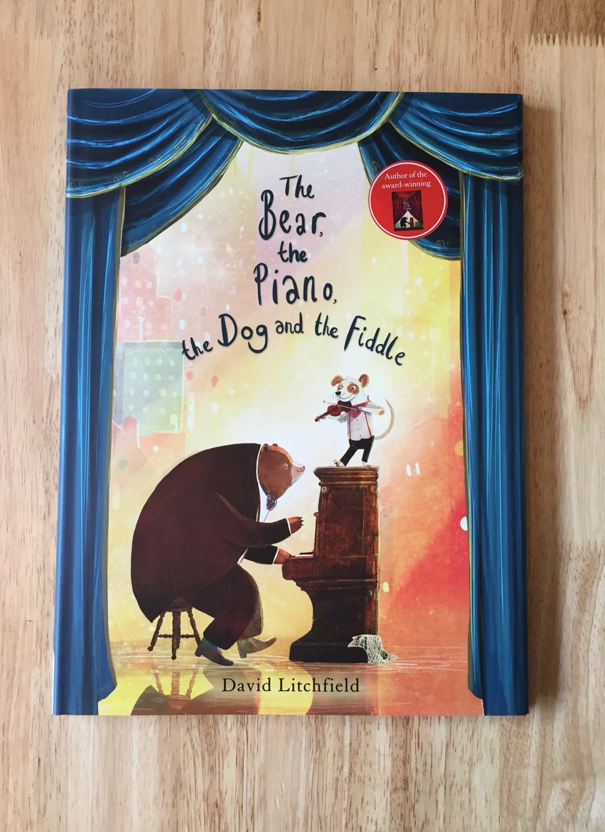 #competition time! I have 1 signed copy of my new book The Bear, The Piano, The Dog &amp; the Fiddle to give away to 1 of my twitter friends. Just retweet this pic to be in with a chance. Competition ends at 3pm Friday 21st sept. Ready steady GO!!!!  #kidlitart #illustration<br>http://pic.twitter.com/676CfE4d98