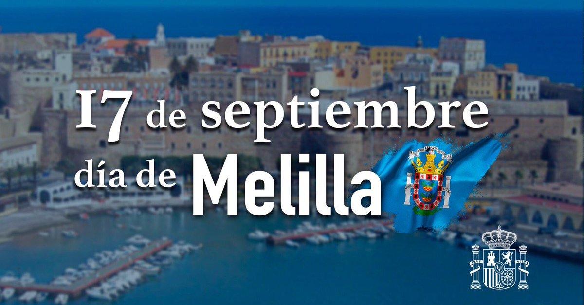 Feliz día de Melilla!!! Un abrazo a l@s melillenses!!! @psoemelilla @ConGloriaRojas