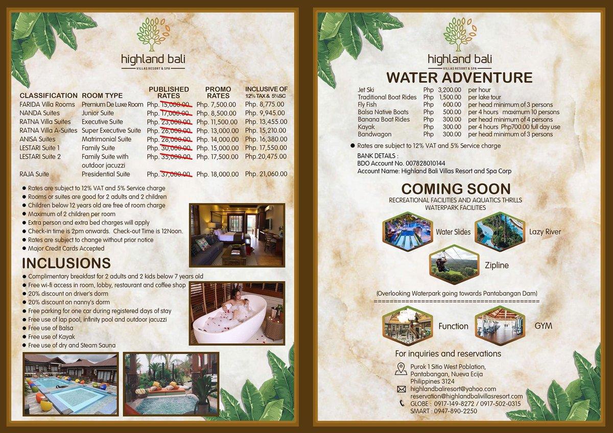 Highland Bali Villas Resort And Spa Balihighland Twitter