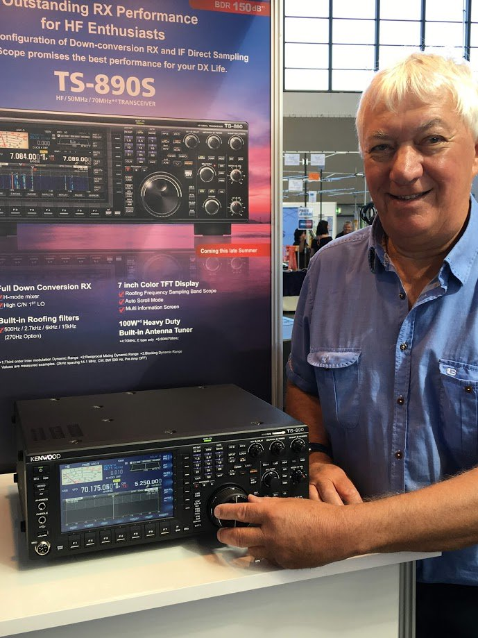 The NEW Kenwood TS-890S has arrived in the UK - we will have