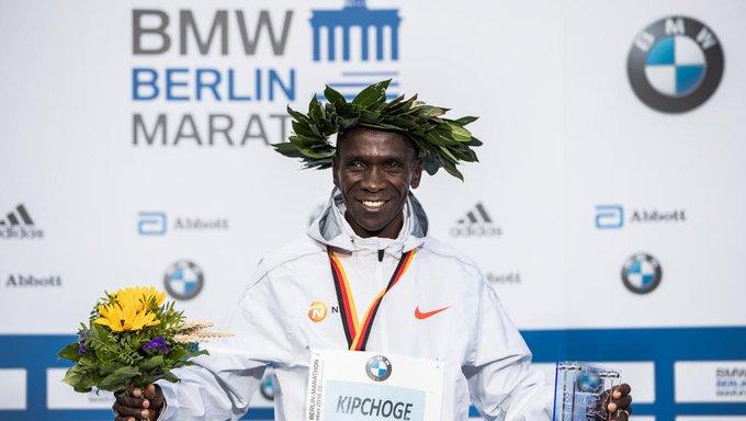 """Kipchoge: """"Supe que podía hacer el récord tras los 30 kilómetros"""" Foto"""