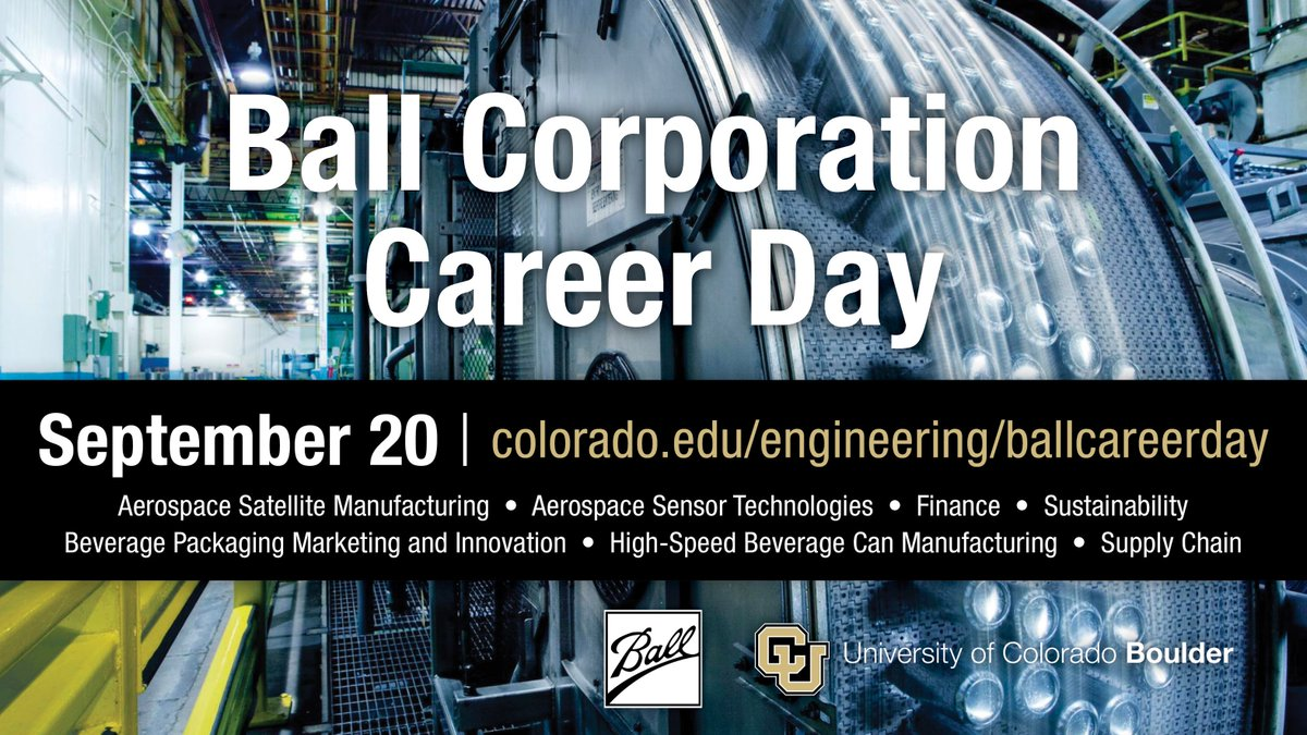 Cu boulder cuboulder twitter you must rsvp to a session in order to attend dont wait up theyre filling up fast httpscoloradoengineeringtour options ball career day fandeluxe Image collections
