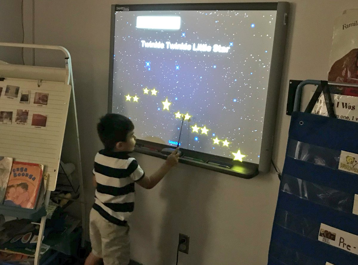 "Pre K tracking ""Twinkle Twinkle"" while singing! Practicing pre-reading skills and hearing the difference between high and low sounds, all in one!  <a target='_blank' href='http://search.twitter.com/search?q=PHESBulldogs'><a target='_blank' href='https://twitter.com/hashtag/PHESBulldogs?src=hash'>#PHESBulldogs</a></a> <a target='_blank' href='http://twitter.com/APSHenrySnyder'>@APSHenrySnyder</a> <a target='_blank' href='http://twitter.com/APS_HankHenry'>@APS_HankHenry</a> <a target='_blank' href='http://twitter.com/APSArts'>@APSArts</a> <a target='_blank' href='https://t.co/JcXSmjl1zg'>https://t.co/JcXSmjl1zg</a>"