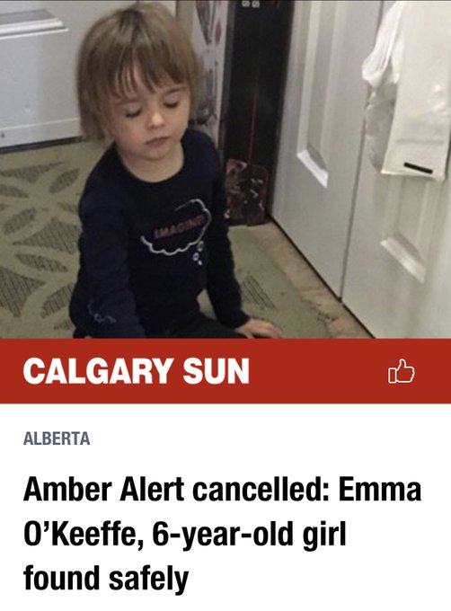 Little girl found - THANK GOD - I myself am guilty of leaving my older girls in the car with it running