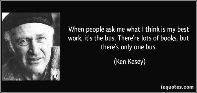"""Happy Birthday to Ken Kesey! if you\ve read his book \""""One Flew Over The Cuckoo\s Nest\""""!"""