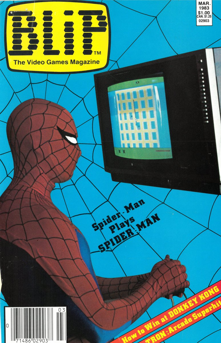 """Stan Lee on Twitter: """"Who would rather be playing video games this  #MondayMorning? We uncovered this 1983 BLIP magazine in the #StanLeePapers  at @ahcwyo. What's your favorite Spidey game? #SpiderManPS4 #SpiderMan…  https://t.co/2a9q8dhlP6"""""""