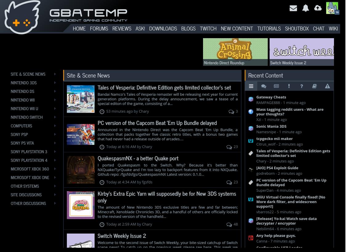 gbatemp tagged Tweets and Downloader | Twipu