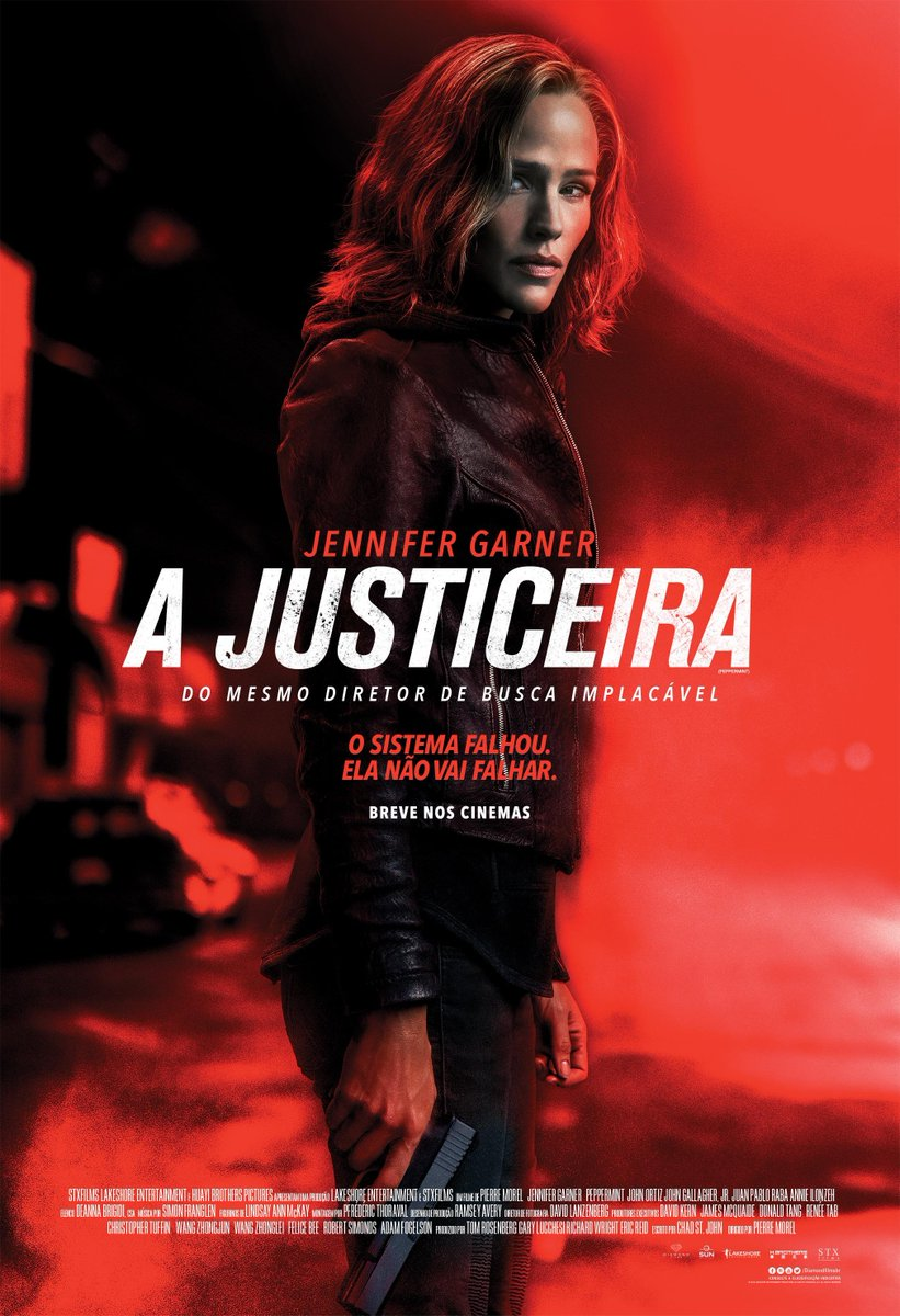 Cartaz A Justiceira Diamond Films