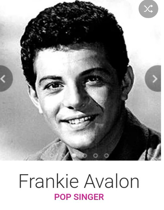 Happy 79th birthday tomorrow the18th September to Teen Idol Frankie Avalon.