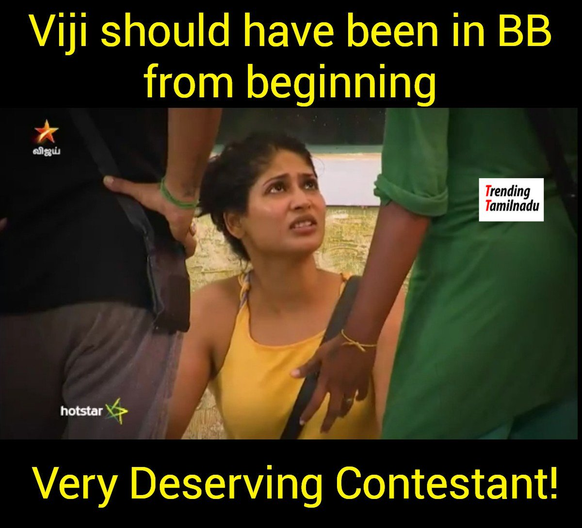 Bigg Boss Tamil Season 2's tweet -