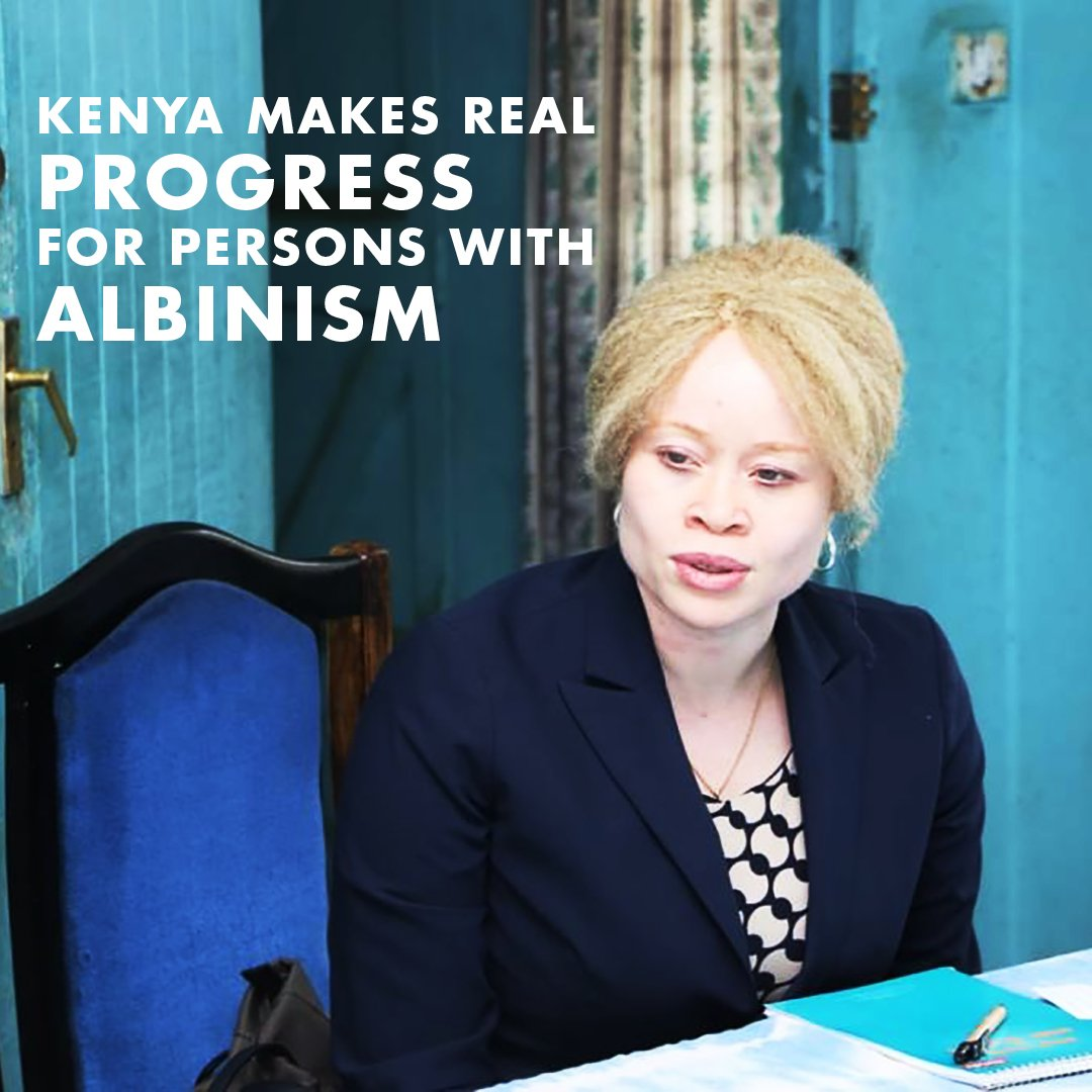 #Kenya has recorded significant success in responding to attacks and discrimination against persons with #albinism in the health sector but must do much more in other areas like access to justice — @UnAlbinism. Read: ow.ly/8uzy30lQHx1 #NotGhosts #StandUp4HumanRights