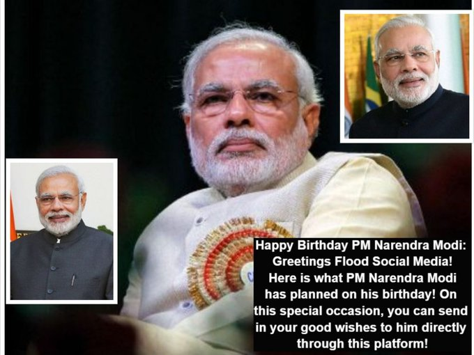Happy birthday narendra modi ji thank you so much I proud you are my prime minister