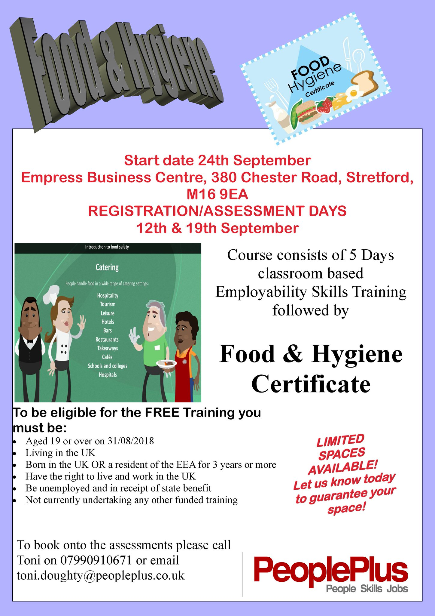 Mcc Work And Skills On Twitter Book Your Place On A Free 5