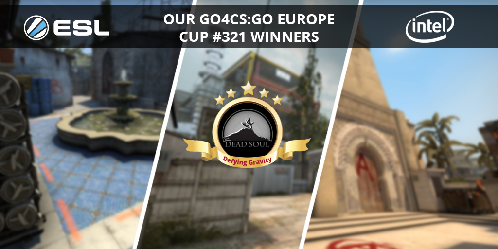 Congratulations to Defying Gravity for winning the #Go4CSGO Europe Cup #321 powered by @IntelGaming. Check their path to victory. ➡️ esl.gg/2NUh1fU