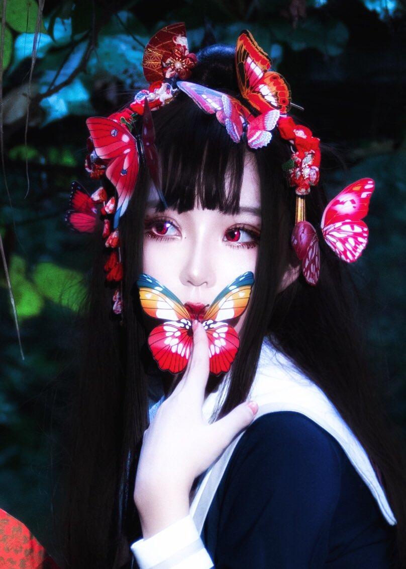 蝶🦋 Model:me Photographer:Weibo@几克