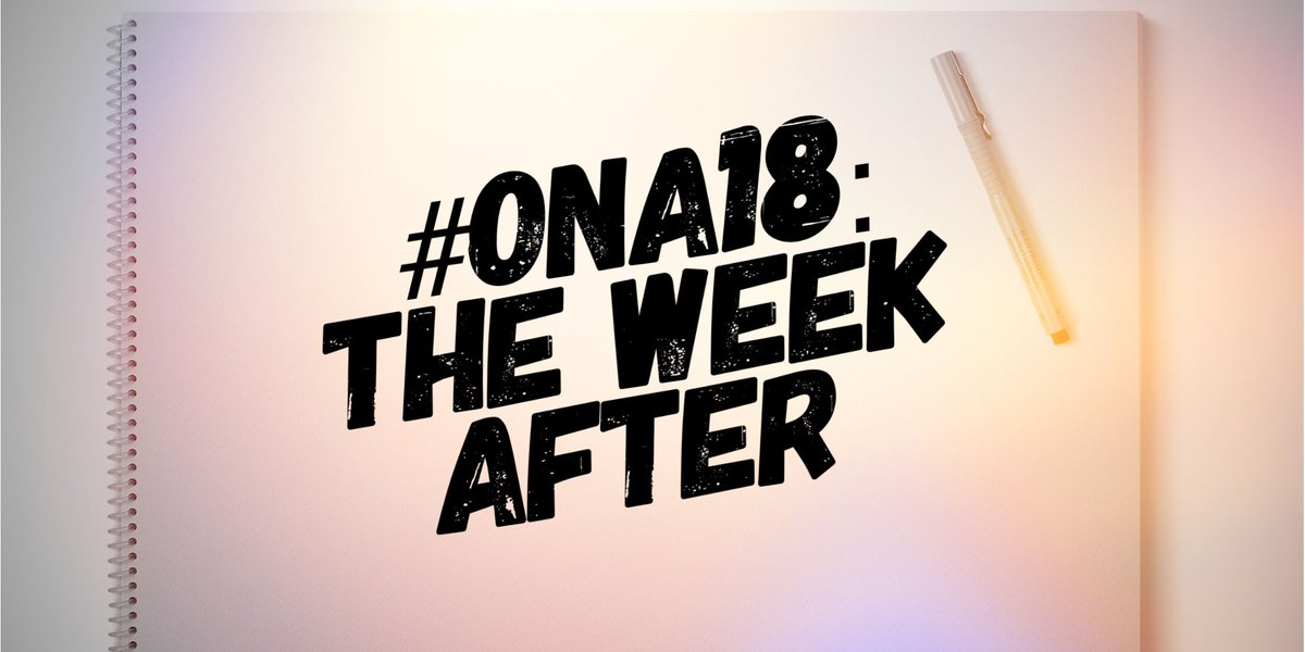 4 steps to follow-up #ONA18 1. Explore superb award-nominated projects:  http:// bit.ly/2NSCyWF  &nbsp;   2. Read @AmyWebb's @FTI Trends Report:  http:// bit.ly/ONATechTrends2 018 &nbsp; …  3. Read Table Talks summaries:  http:// bit.ly/2NL87l6  &nbsp;   4. Watch @zephoria's talk:  http:// bit.ly/2NOu82q  &nbsp;  <br>http://pic.twitter.com/3WCmbCCewb