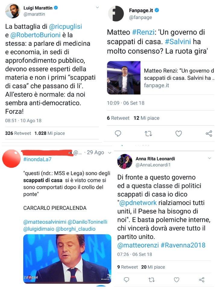 @serebellardinel @fattoquotidiano Chiedo scusa al Garrone e alla pasionaria del #Pd per la loro mancata menzione ... ma, a giudicare dalle date, loro si sono solo accodati come #Brunetta ... il copyright stavolta non spetta nemmeno al #cazzaro di Rignano ma al suo sottopanza ... l\
