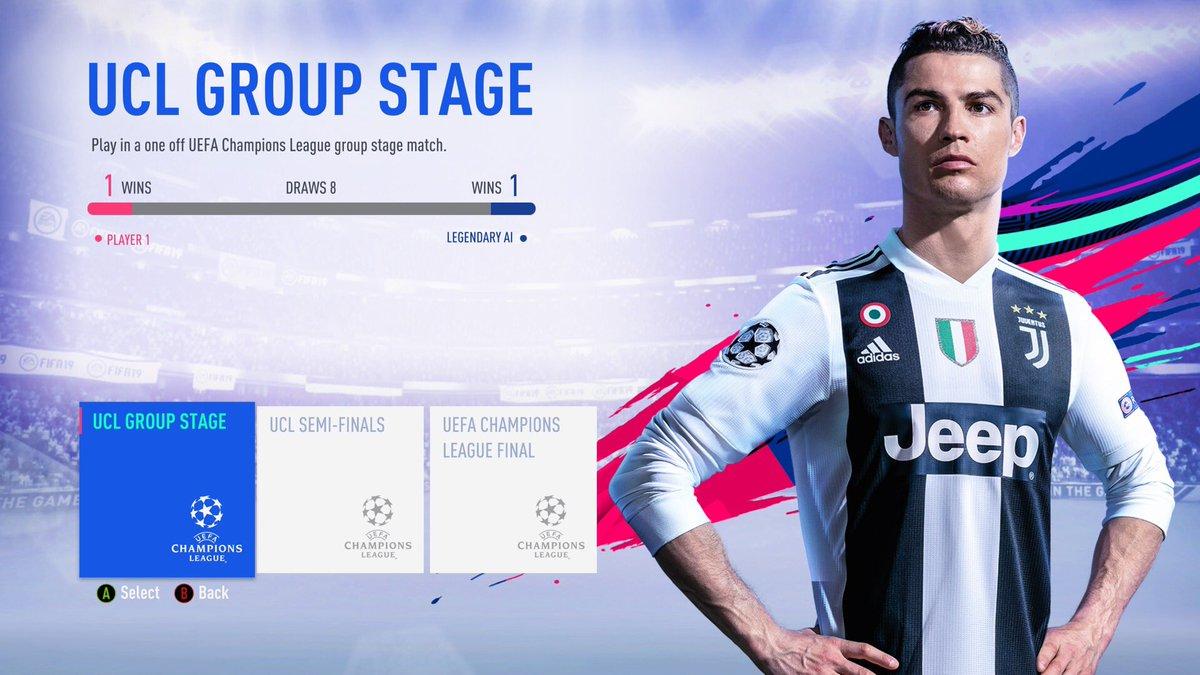 """#FIFA19 #DemoFIFA19 #FIFA19Demo @EASPORTSFIFA @EA_FIFA_France C'est quand mm un truc de fou de faire que des matchs nuls 1-1... •Je marque en 1ere mi-tps, j'encaisse au Kick Off du but ou de la 2eme mi temps•Je marque en 2eme mi-tps, j'encaisse au Kick Off du but ou à la 90""""  - FestivalFocus"""