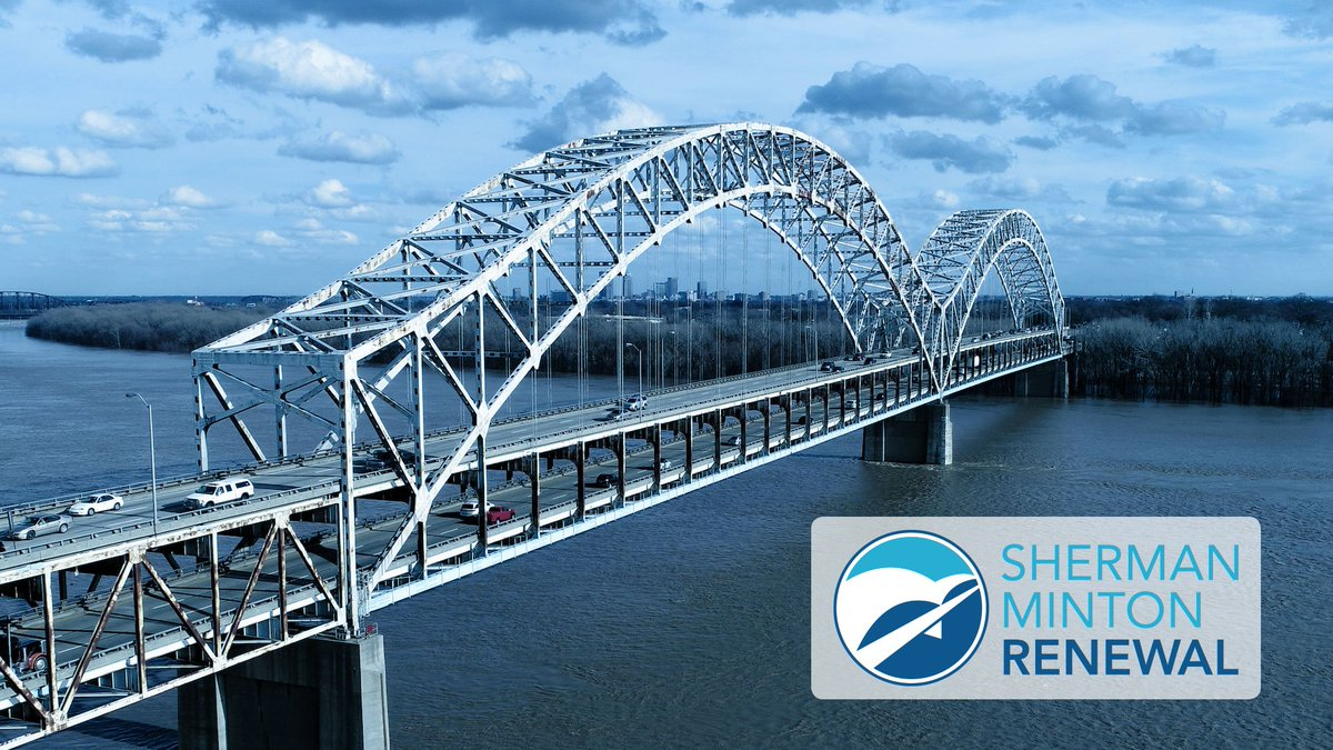 The shermanrenewal project will ensure that drivers in both states have a safe and reliable way to cross the river. Kentucky Transportation Cabinet and INDOT are committed to delivering a safe and cost-effective project while working to minimize disruption to drivers who rely on the bridge.