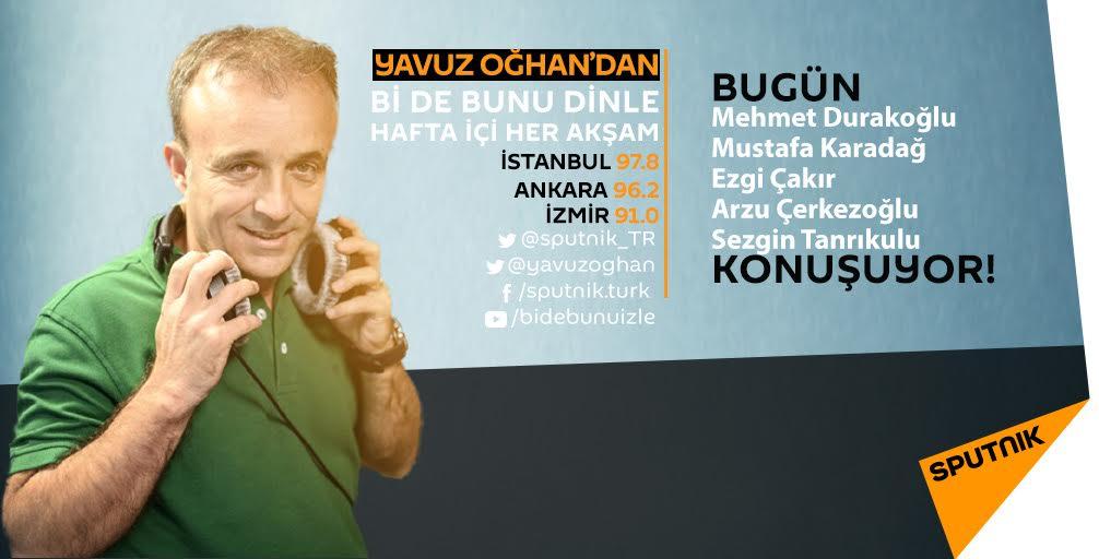 @yavuzoghan'la #bidebunudinle 17.30'da @rsfm978'de başlıyor. Dinlemek için: tr.sputniknews.com/popup/radio/