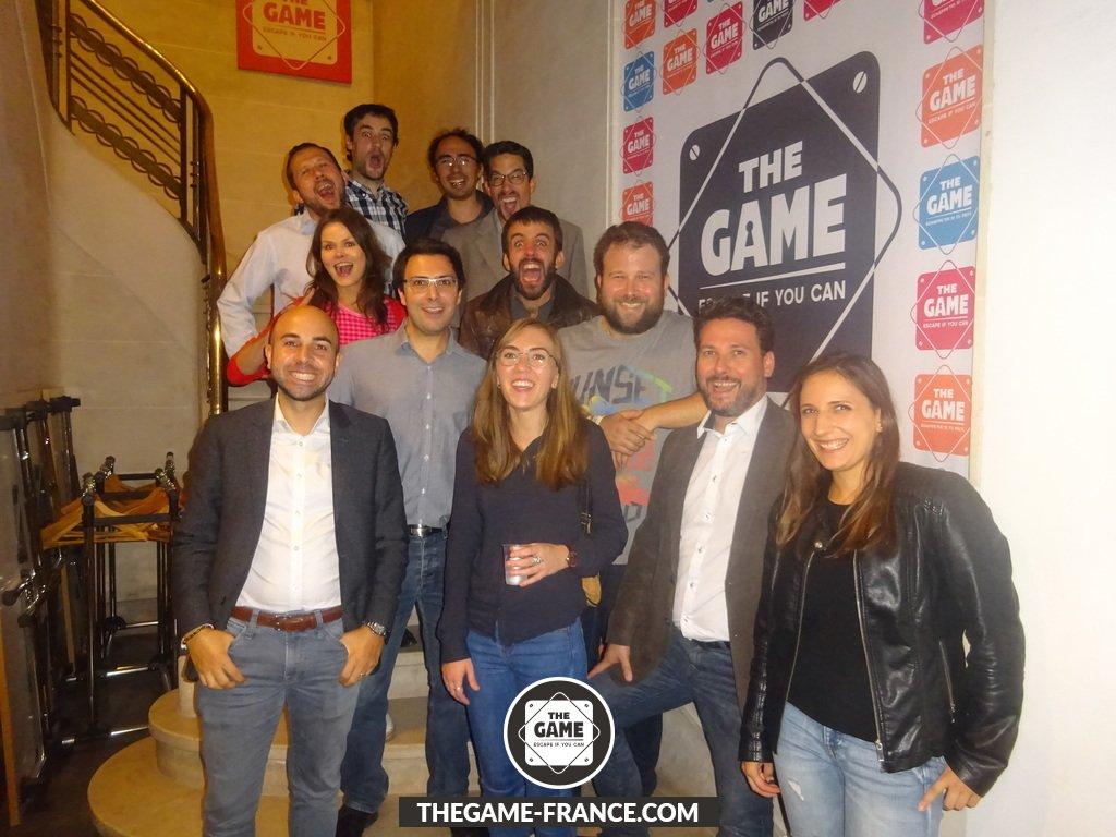 test Twitter Media - La semaine dernière nous avons passé une agréable soirée entre collègues autour d'un #EscapeGame à @TheGameParis #teambuilding #TheGame https://t.co/7aUXJwGtxI