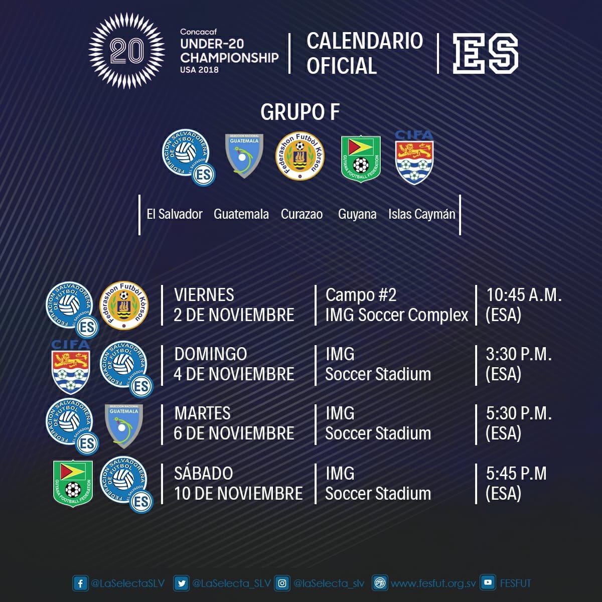 Campeonato Sub-20 de Concacaf 2018. [Copa Mundo Polonia 2019] DnTTW6wUYAAXbi5