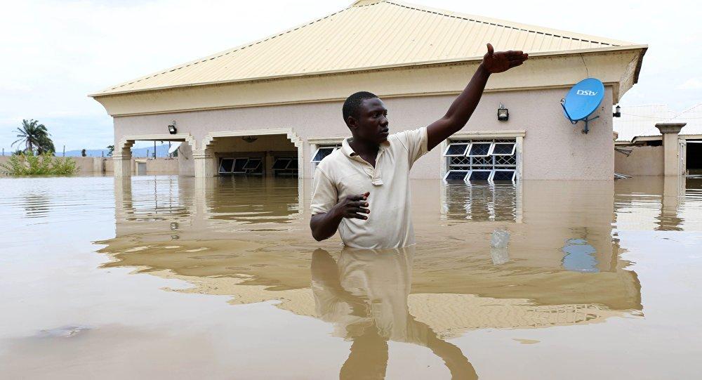 Nijerya'da sel felaketi: 100'den fazla kişi öldü sptnkne.ws/j8mh