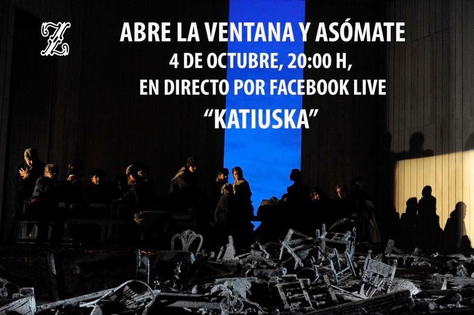 Katiuska, TZ el 4 de octubre por facebook  live DnTYhGvXoAA8JVD