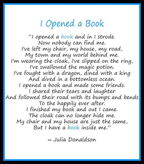 Find a Great Book and Lose Yourself in it! Find Another You at the End!