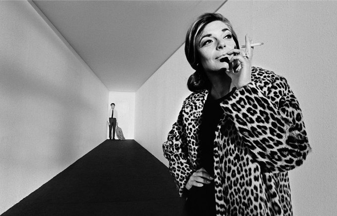 Happy Birthday to Anne Bancroft (1931-2005). Here she is on the set of 1967 s The Graduate