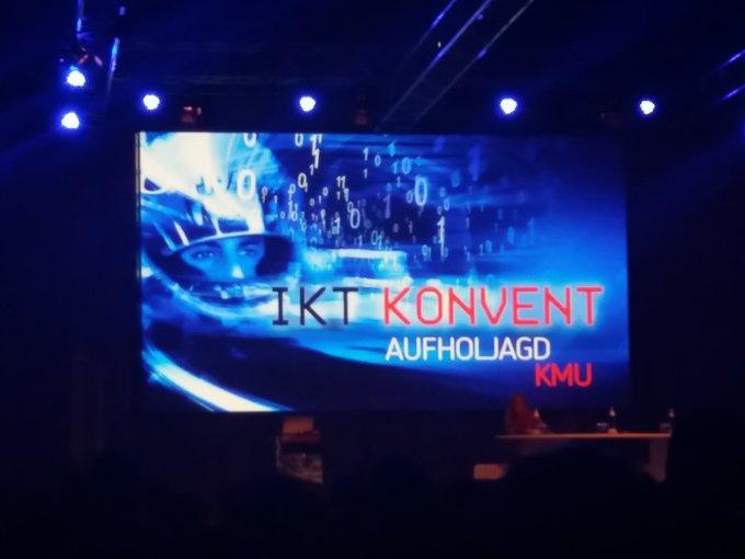 IKT Konvent 2018: @Atos_AT ist auch dieses Jahr wieder dabei. Bei der Keynote von...