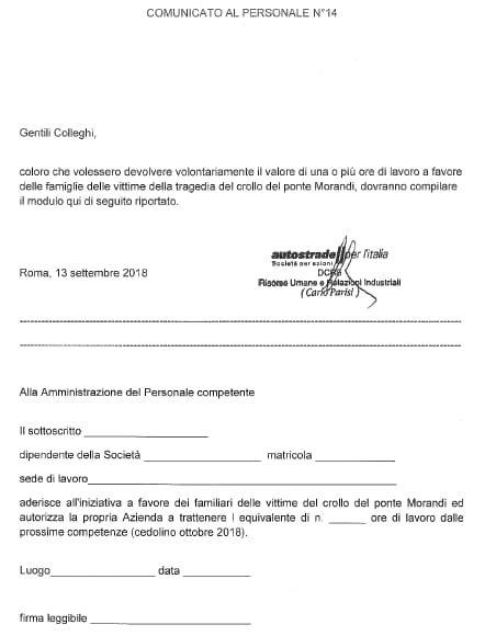 È incredibile leggere di #Autostrade che chiede ai suoi dipendenti di devolvere parte dello stipendio per risarcire le vittime di #Genova.Scaricare i costi del disastro sui lavoratori è semplicemente ignobile.@DaniloToninelli  http://bit.ly/2QywHUV  - Ukustom
