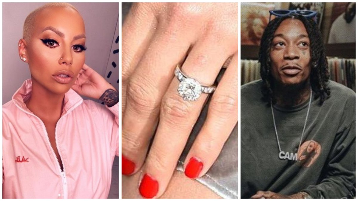 Legit Ng On Twitter Amber Rose S N54 3m Engagement Ring From Wiz