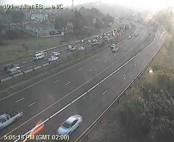 78326: Ramp from Jan Smuts Highway (M13) Westbound congested from N3 to N3 Westbound after N3 EB (Cloete I/C). Expect Delays Photo