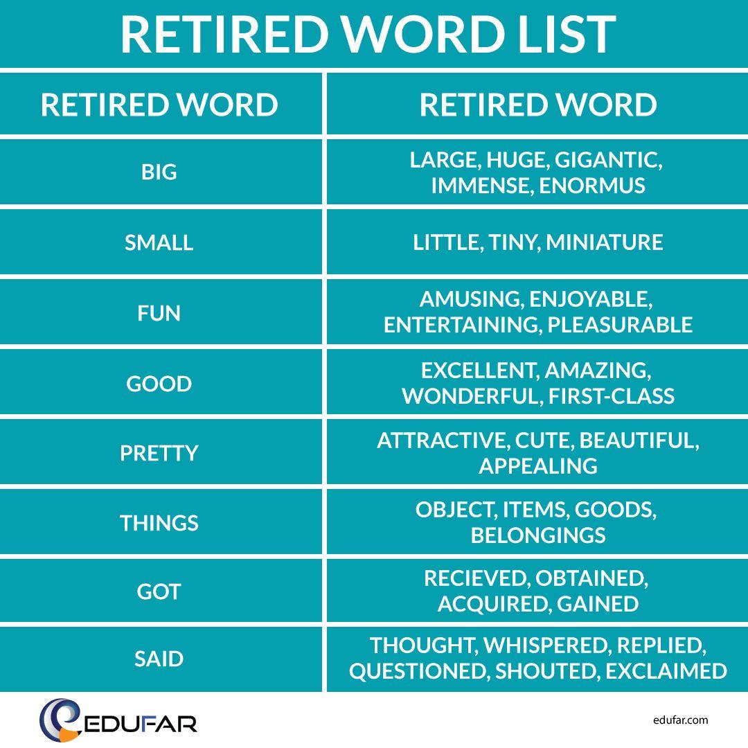Retire English